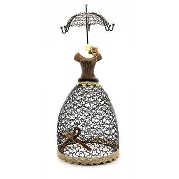 Підставка під біжутерію Arjuna Манекен парасолька 35х15х15 см (25606)