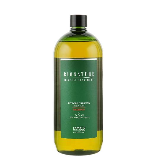 Шампунь против выпадения волос Фактор роста Emmebi Italia BioNatural Mineral Treatment Growth Factor
