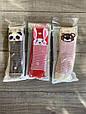 Колготи махрові KBS дитячі з малюнком звірят для дівчаток 0 років мікс із  кольорів, фото 3