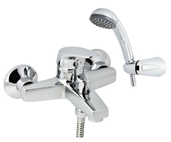 Смеситель для ванны с душевым гарнитуром Genebre Ge2 60100 22 45 66 хром