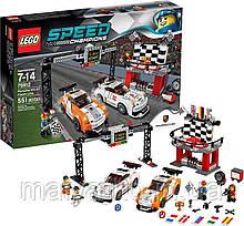 Лего Lego Speed Champions 75912 Porsche 911 GT Finish Line Фініш Порше