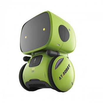 Интерактивный робот с голосовым управлением – AT-ROBOT (зелёный, озвуч.укр.) AT001-02-UKR