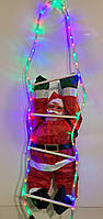 Гирлянда Дед Мороз 95см