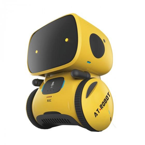Интерактивный робот с голосовым управлением – AT-ROBOT (жёлтый, озвуч.укр.) AT001-03-UKR