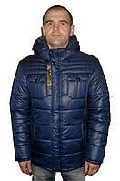 Мужская зимняя куртка на силиконе - Размер 50,52,54,56,58,60