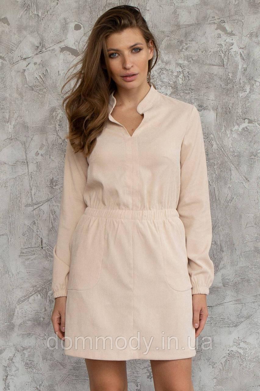 Платье женское из вельвета