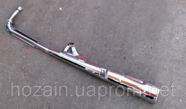 Труба выхлопная хром 49сс-72сс (Альфа. Дельта) (шт.), фото 2