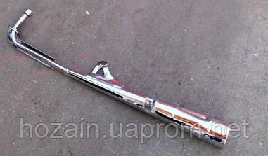 Труба вихлопна хром 49сс-72сс (Альфа. Дельта) (шт)