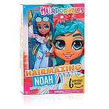 Hairdorables Hairmazing Doll - Noah Кукла Хэрдораблс шарнирная Ноа хердораблс оригинал, фото 3