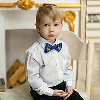Дитячий метелик-краватка (ручна робота)  - Тризуб, фото 1