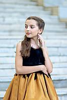 """Модель """"CINDERELLA GOLD"""" со шлейфом - дитяча сукня / детское нарядное платье, фото 1"""