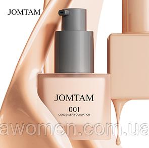 Легкий тональный крем Jomtam Light Concealer Foundation 30 ml  № 001 (цвет натуральный)