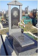Виготовлення пам'ятників з сірого граніту, фото 1