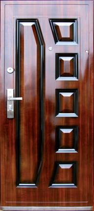 Металлические входные двери AAA богатырь 003 лак в квартиру , фото 2