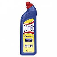 """Засіб """"Комет"""" гель 1л Лимон/-336/12"""