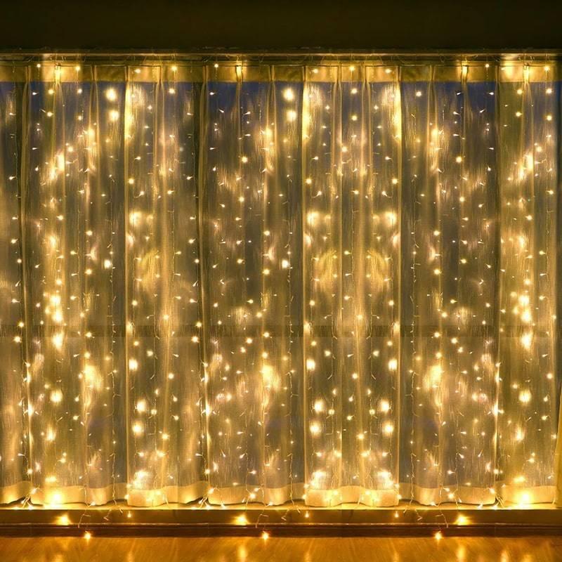 Новогодняя светодиодная гирлянда Штора