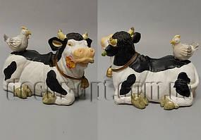 Коровка  с курицей 11х15х8см