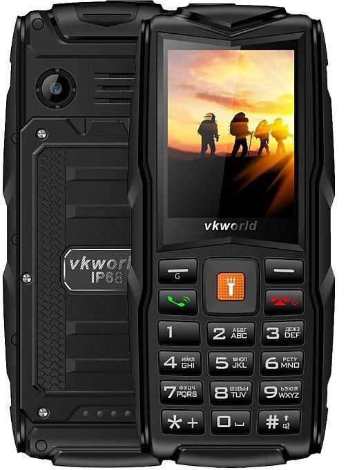 Мобильный телефон Vkword V3 Black