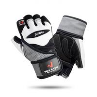 Перчатки для фитнеса и тяжелой атлетики с напульсником Way4you w-1053M