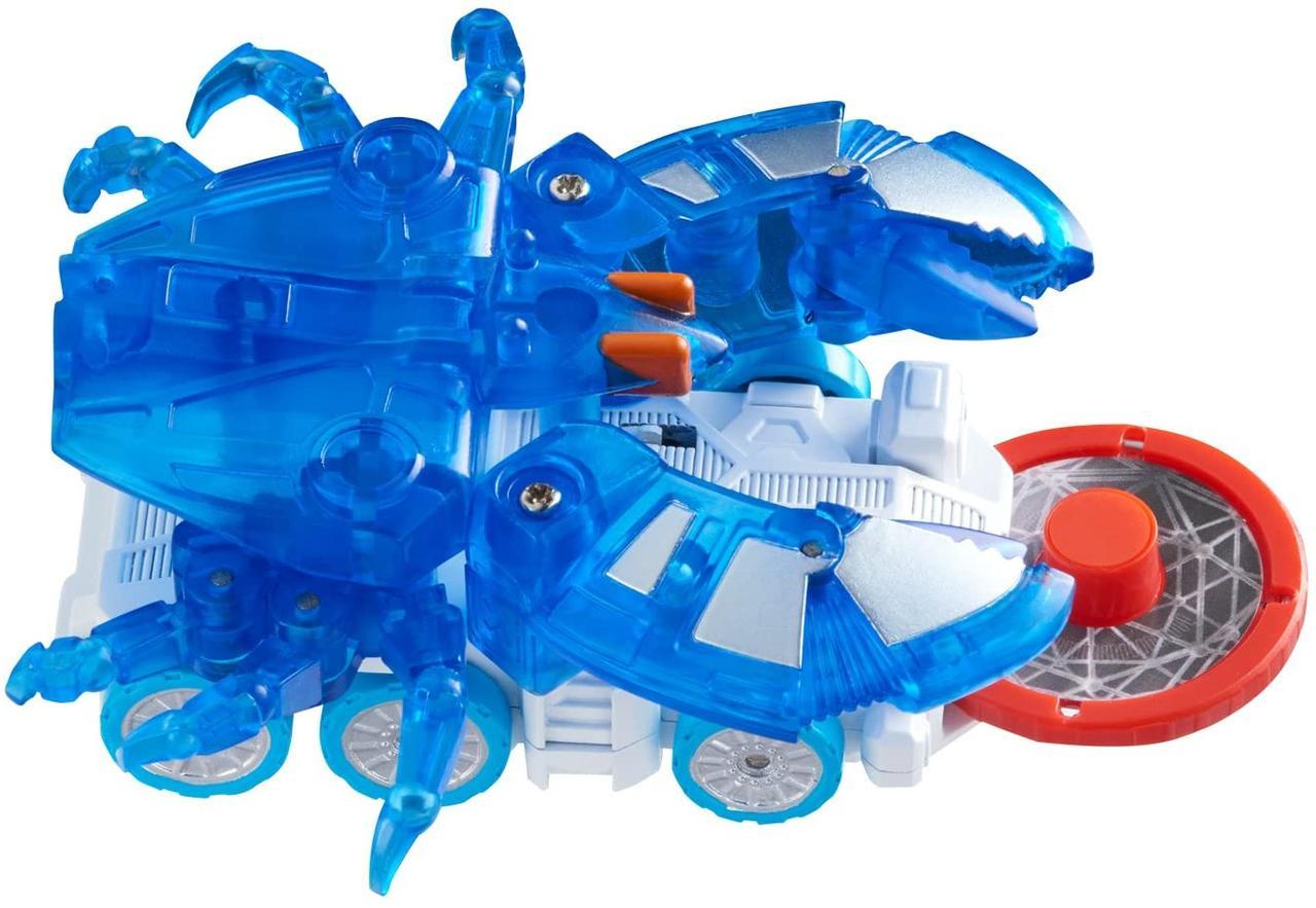Дикий Скричер синий краб Шеллгейм машинка Shellgame L1 Screechers Wild Shell game Шелгейм оригинал
