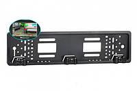 Рамка для номерного знака с камерой заднего вида и парктроником 3 в 1, фото 1