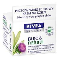 Nivea Pure&Natural крем дневной против морщин, 50 мл