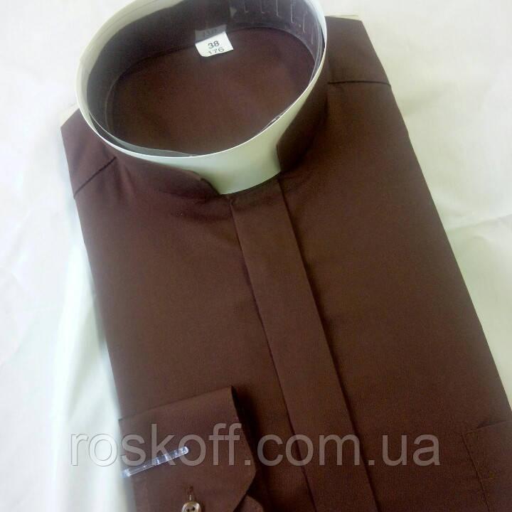 Римо-католицька сорочка коричневий колір