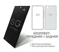 Пленка Meizu Note 8 SoftGlass Комплект: Передняя и Задняя
