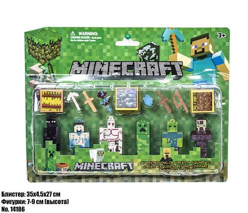 Фигурки Minecraft блистер 14186, фото 2
