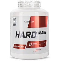 Гейнер для набора массы Hard Mass Progress Nutrition (2000 грамм) клубника