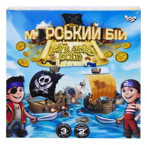 """Настольная развлекательная игра """"Морской бой. Pirates Gold"""", укр G-MB-03U"""