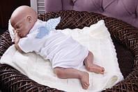 Боди ангел (голубой) 56 Brilliant Baby