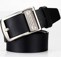 Мужской кожаный ремень JEEP. Высокое качество. Удобный в пользовании. Оригинальный ремень. Код: КЕ236