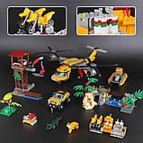 Конструктор 10713 Вертоліт для доставки вантажів у джунглі 1298, фото 3