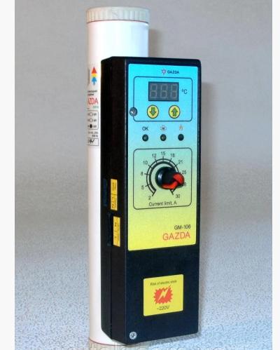 Котел-моноблок GAZDA GM-106, водонагрівач 6 кВт класу Extra з напівпровідникової автоматикою