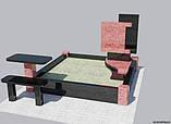 Підприємство займається виготовленням пам'ятників з граніту, фото 2