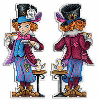 """""""Безумный шляпник"""" М.П. Студия. Набор для вышивки крестом (Р-349)"""