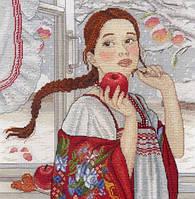 """""""Зимняя красавица"""" М.П. Студия. Набор для вышивки крестом (НВ-566)"""