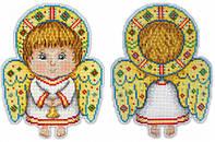 """""""Ангел-хранитель"""" М.П. Студия. Набор для вышивки крестом (Р-158)"""