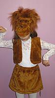 Детский карнавальный костюм обезьянки для девочки, фото 1