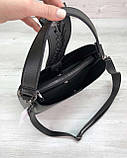 Женская сумка Сати черного цвета, фото 4