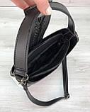 Женская сумка Сати черного цвета, фото 5