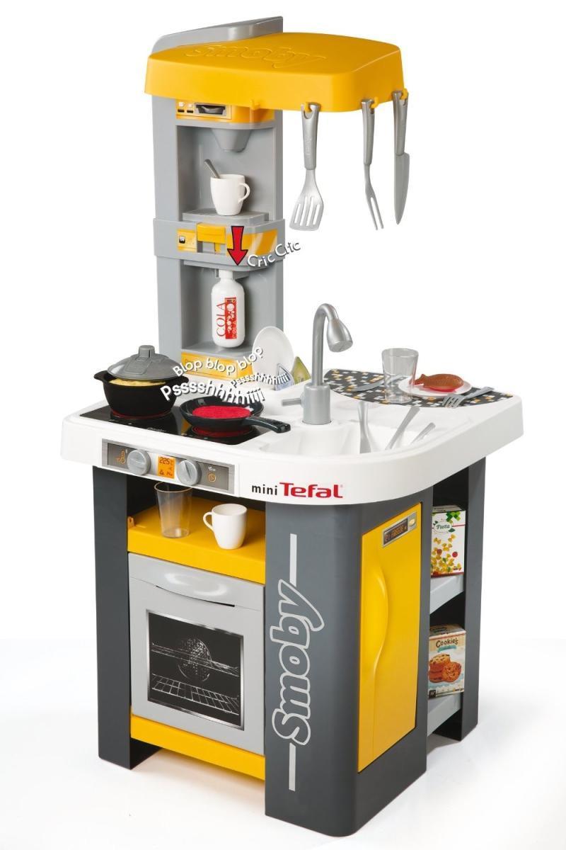Smoby Інтерактивна кухня Mini Tefal Studio 311000