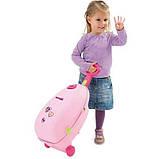 Smoby Чемодан-кровать-стульчик для куклы Минни Маус Nursery Bag Minnie Mouse 24207, фото 4