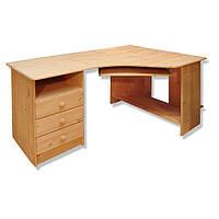 Стол компьютерный письменный из массива дерева 022