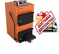 Котел твердотопливный Caldera СТ 55 F (с электронным регулятором температуры и вентилятором)