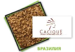 Растворимый сублимированный кофе Caciquae (Касик) весовой 1 кг Бразилия