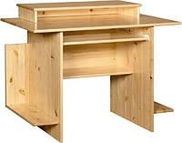 Стол компьютерный письменный из натурального дерева 018