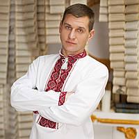 Вышиванка мужская - домоткана тканина