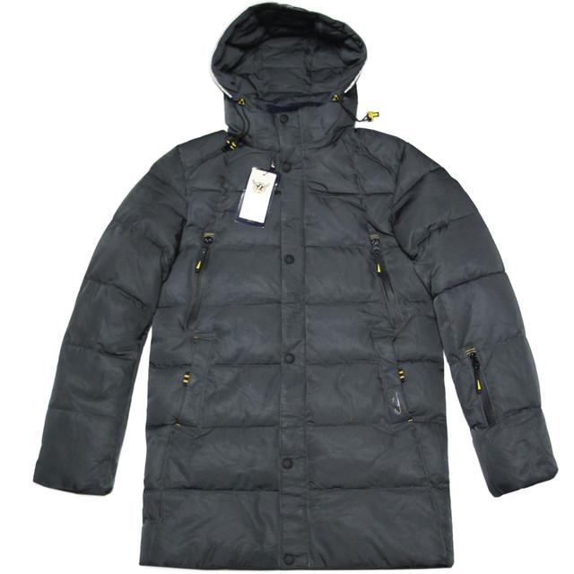 зимняя подростковая куртка для мальчика 13-15 лет